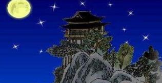 夜宿山寺的意思_夜宿山寺古诗拼音版_全文意思【图文】
